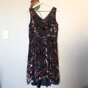 White House Black Market Burnout Dress 14 NWT
